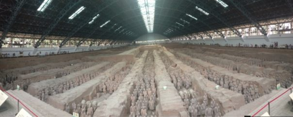 Xi'an, China, The Dragon Trip