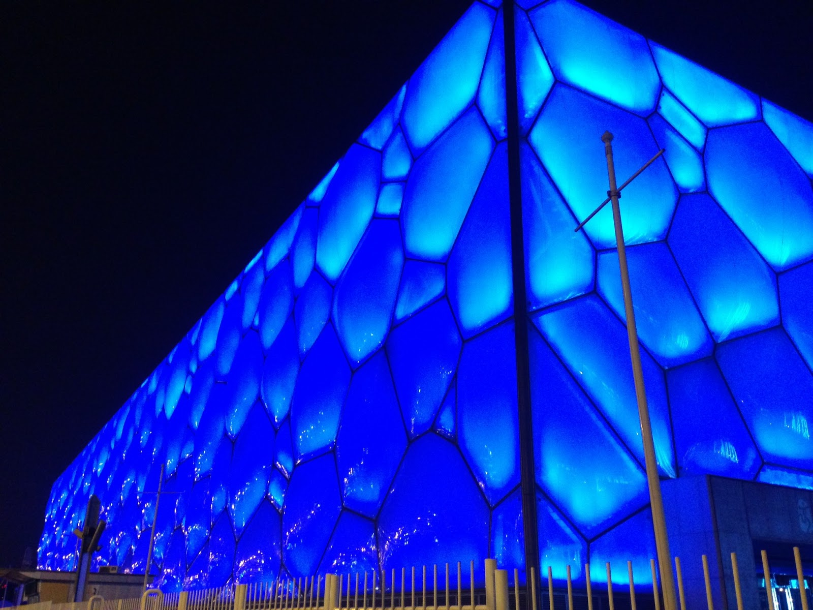China, Beijing, CRCC Asia, Olympic Stadium, Water Cube