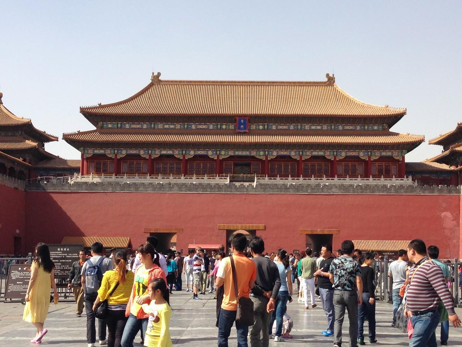 China. Forbidden City. Beijing. The Dragon Trip