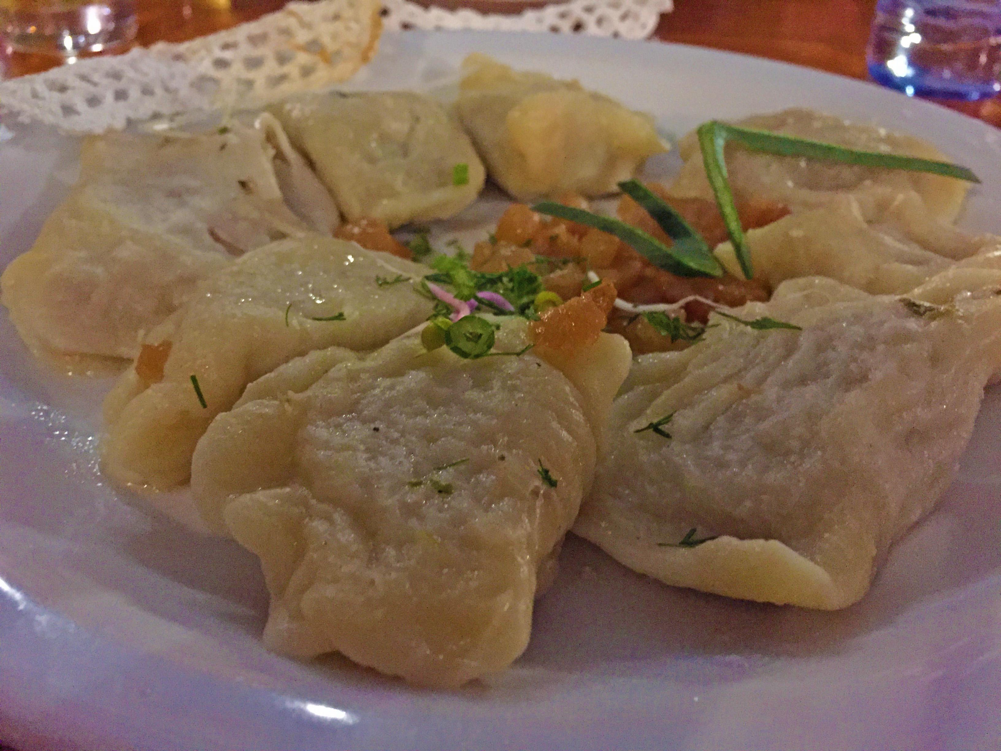 Pierogi - traditional polish cuisine
