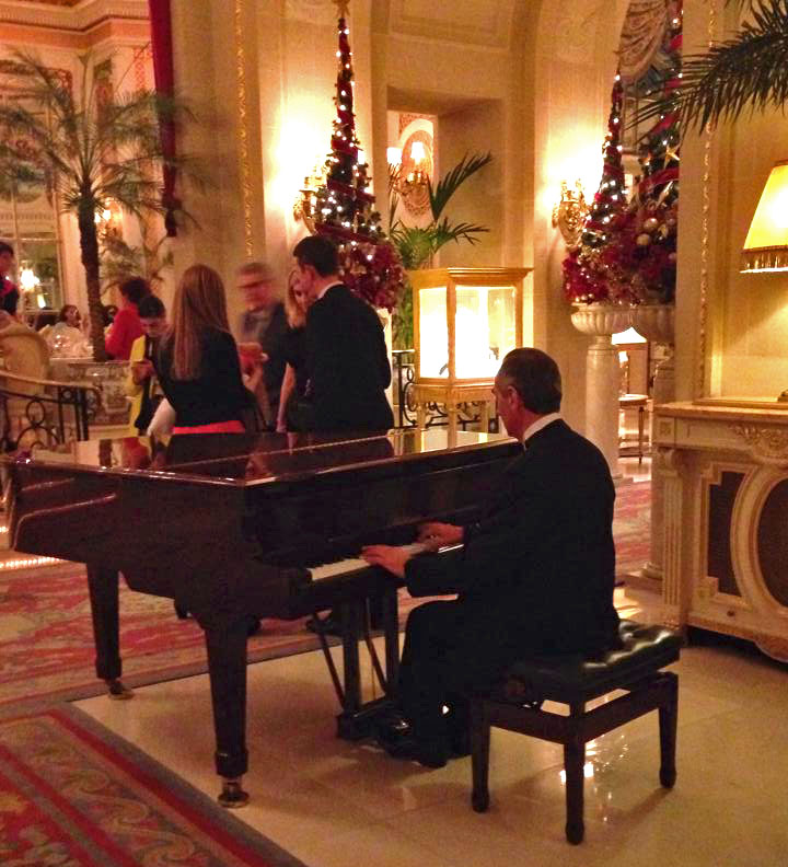 The Ritz, London, Christmas, Afternoon Tea
