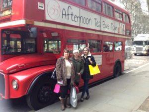 London, Afternoon Tea Bus Tour, B Baker London