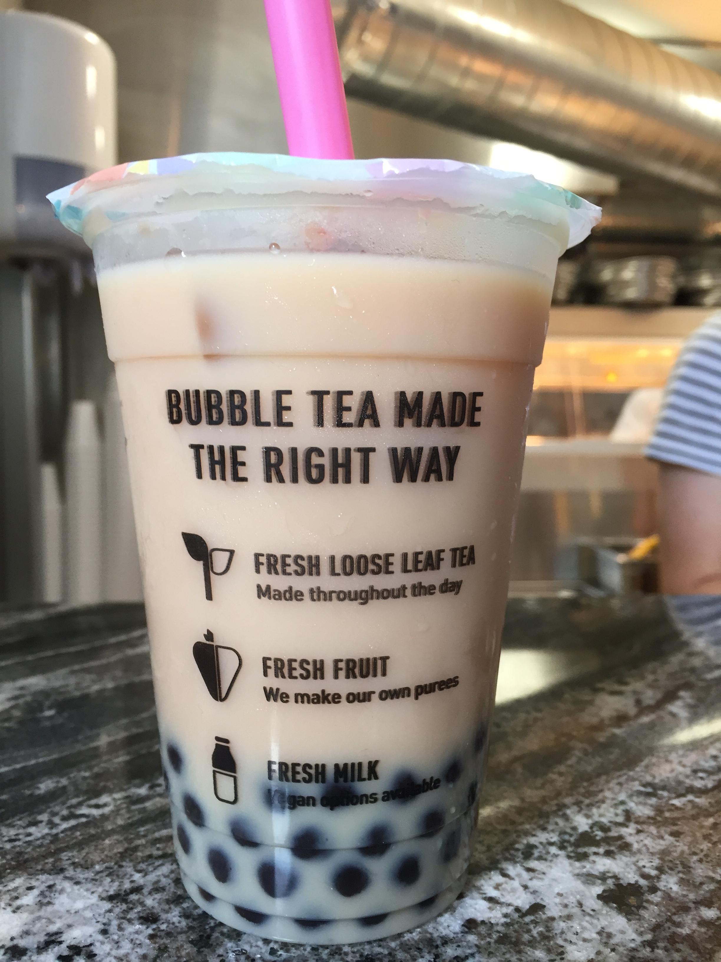 Bubble Tea at Cupp Bristol