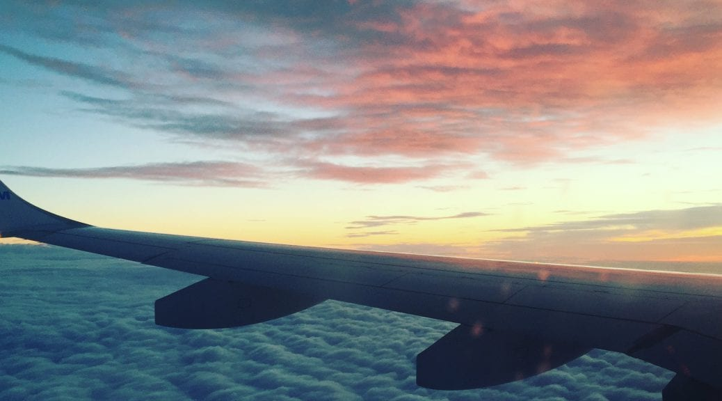 Aeroplane View - Sunset in the Sku
