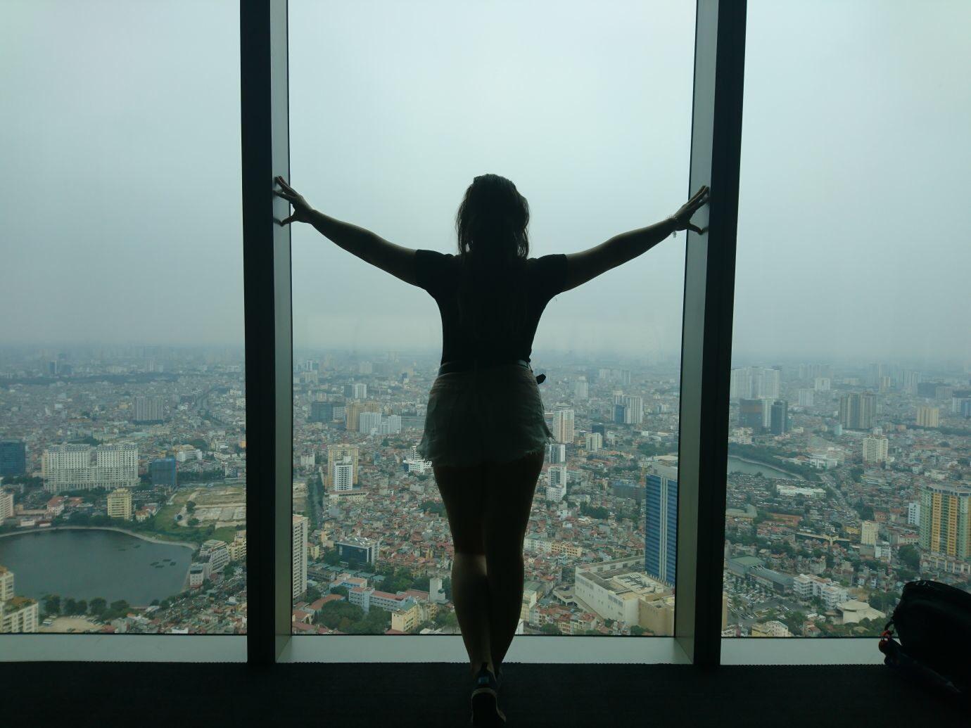 Lotte Tower Observation Deck in Hanoi Vietnam