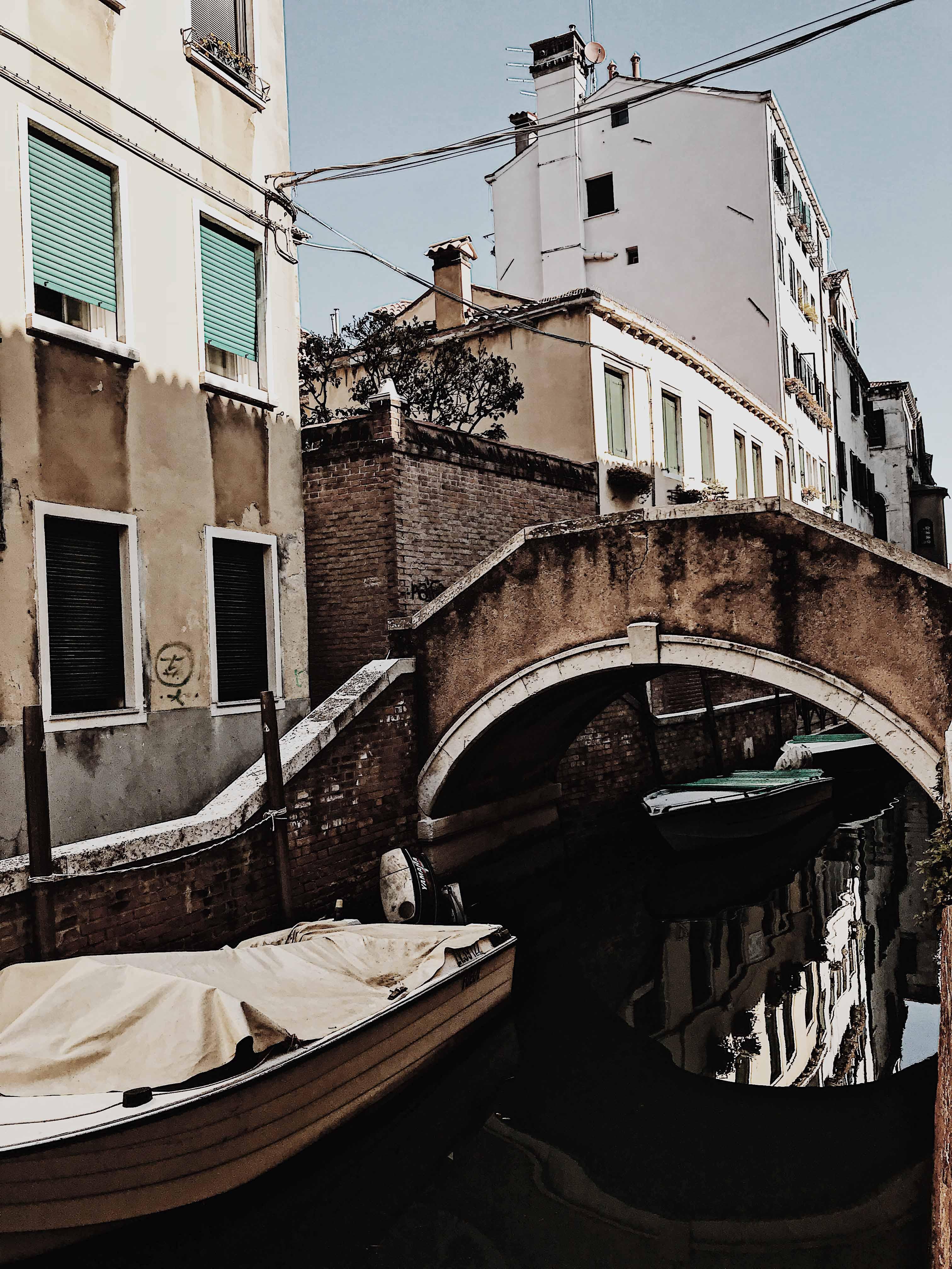 Bridge of Tits in Venice, Italy