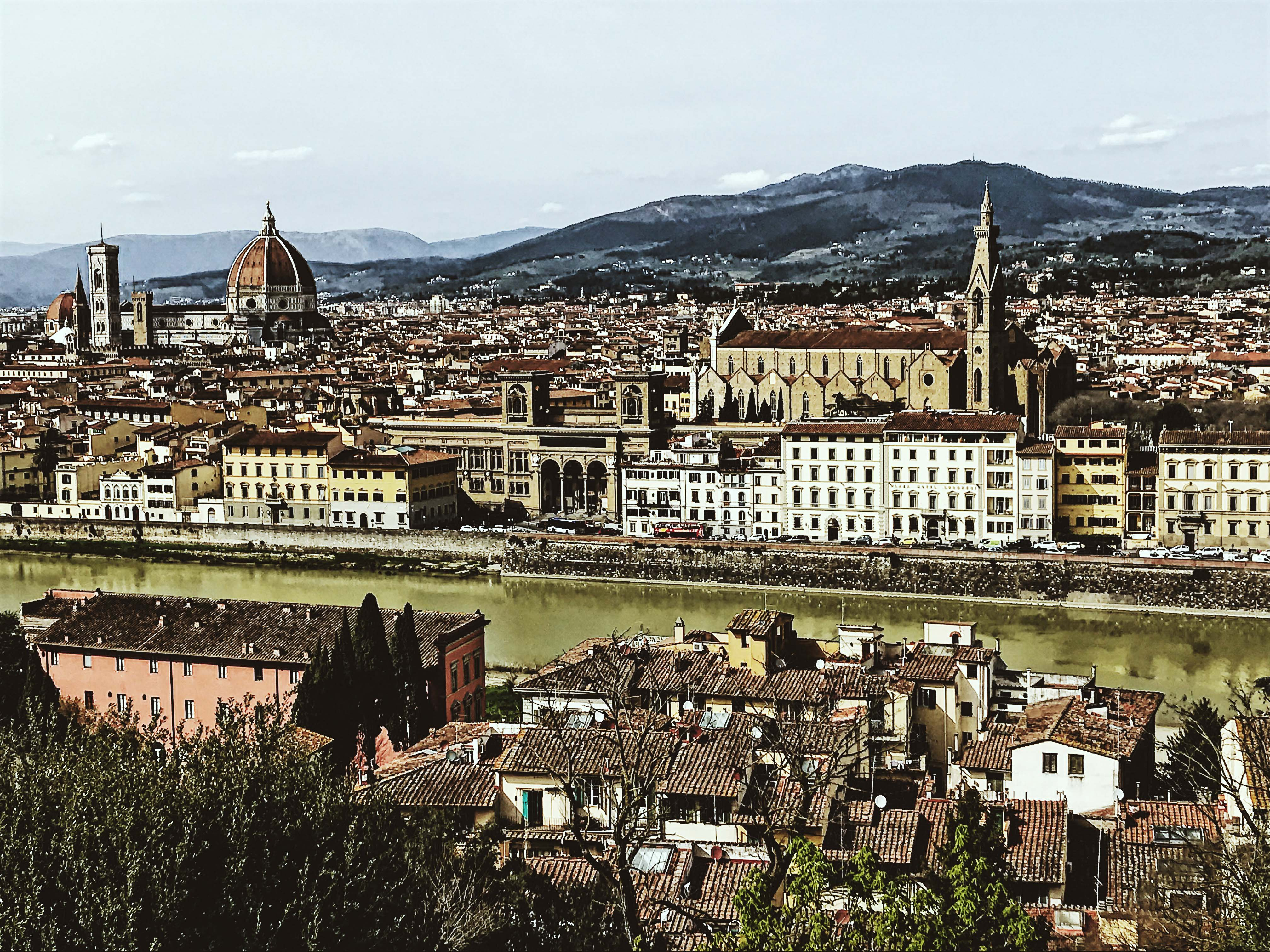 The view of Florence from Piazzale Michelangelo