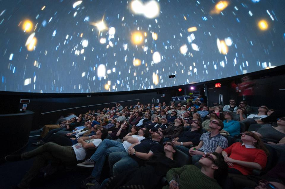 Planetarium Nights 3D at Bristol We The Curious - image source 365 Bristol