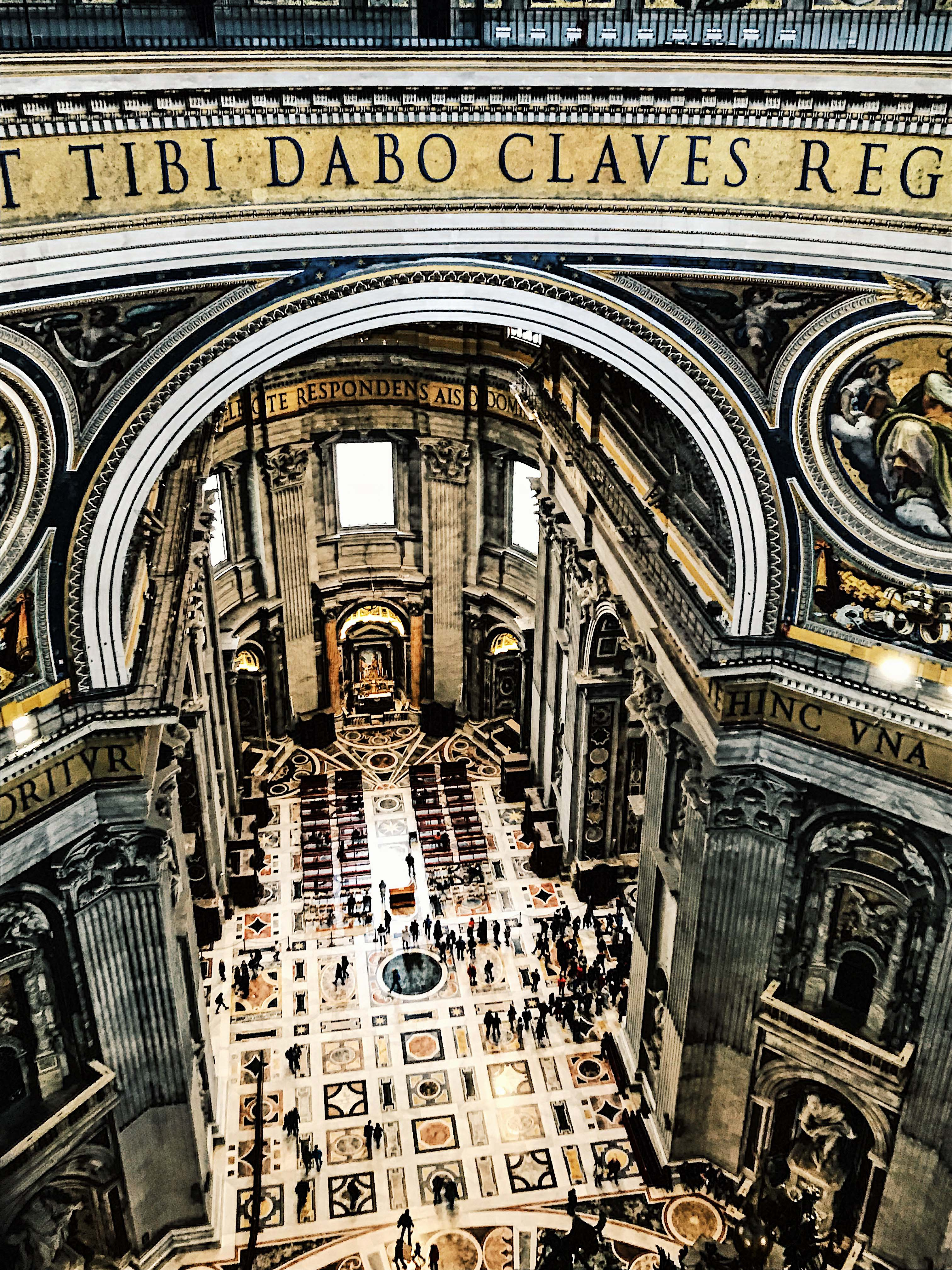 St Peter's Basilica from above