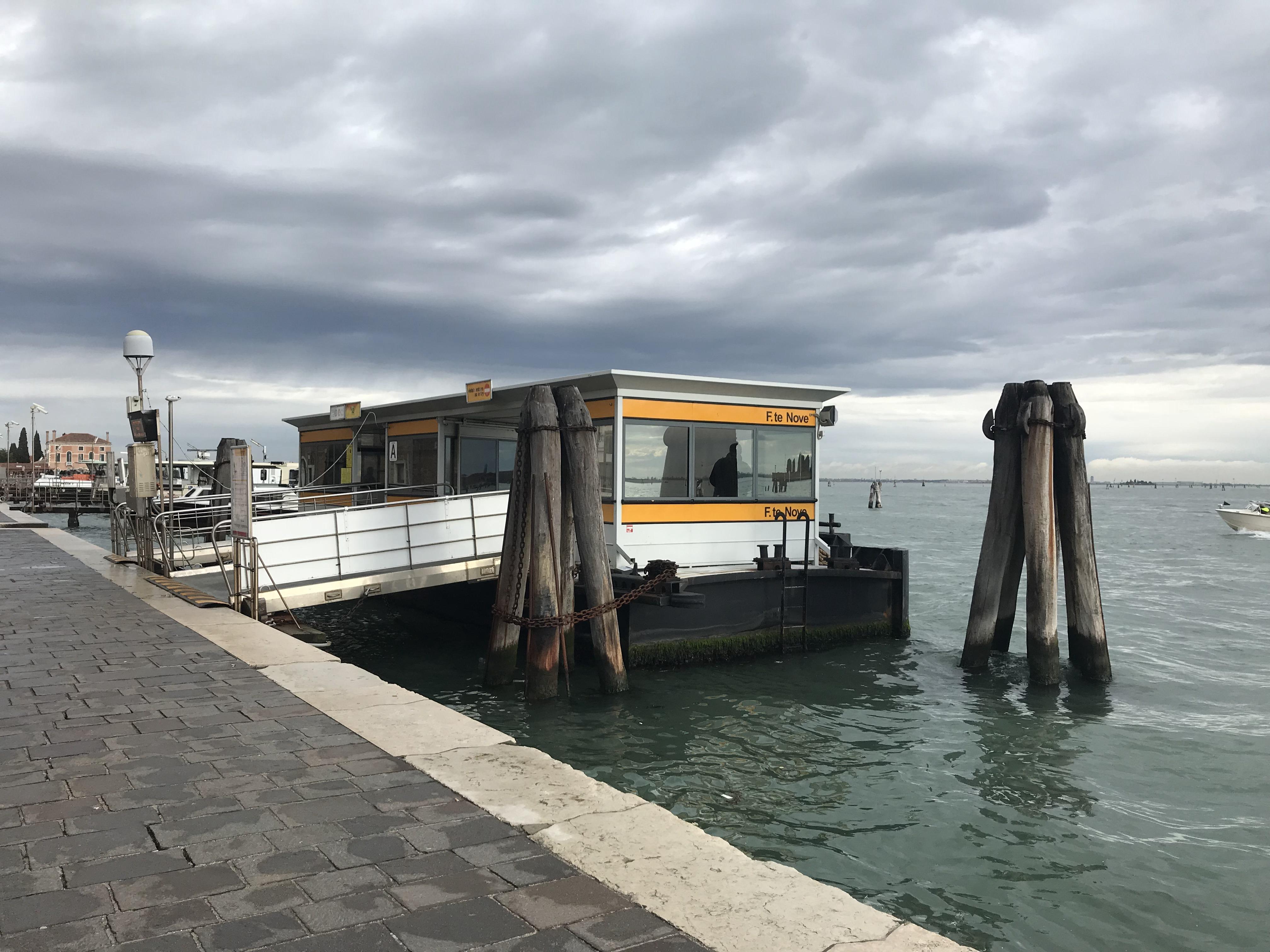 Burano Ferry Stop