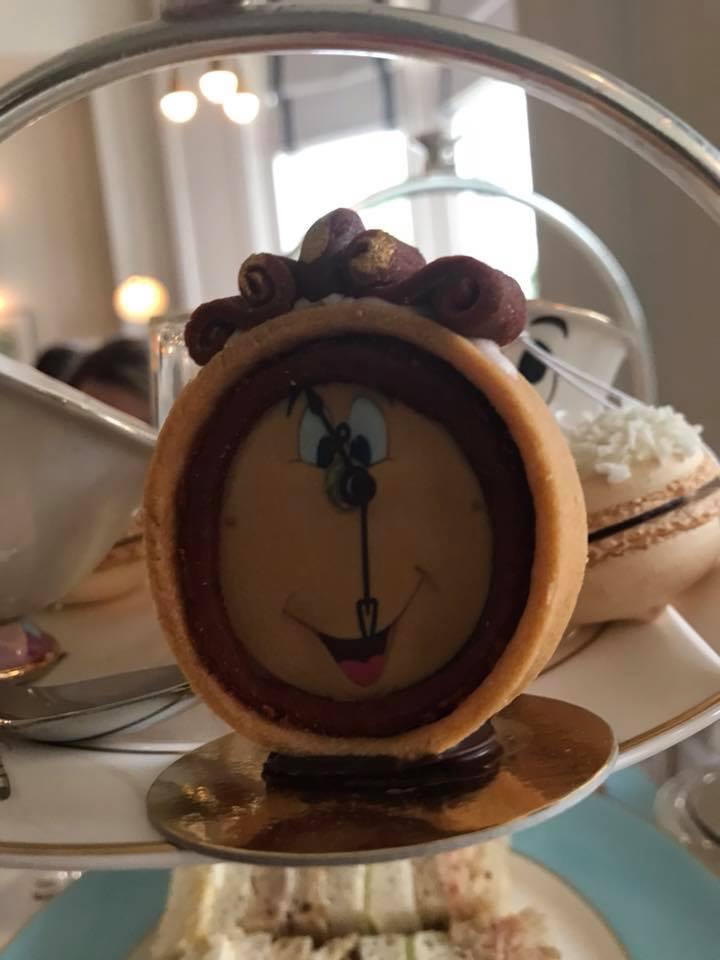 Cogsworth Chocolate Clock Tart with Chocolate Ganache