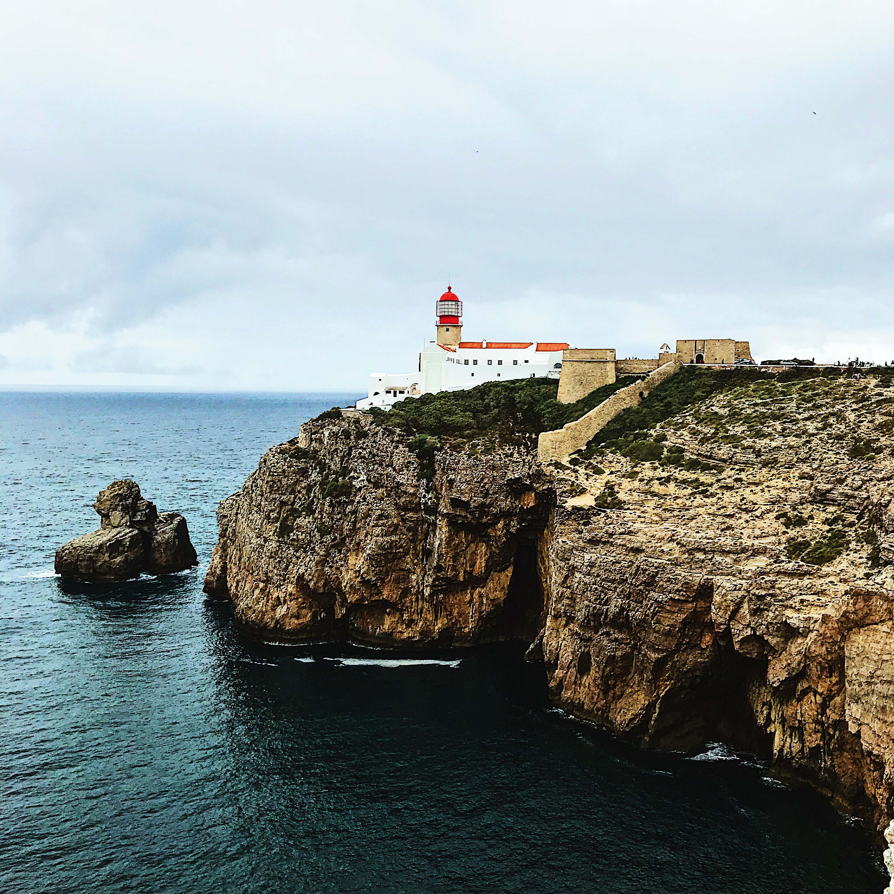 The Lighthouse of Cape St Vincent