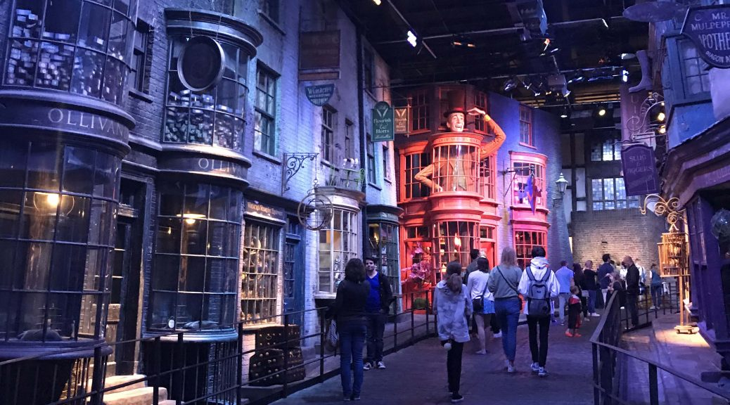 Harry Potter Studio Tour Diagon Alley