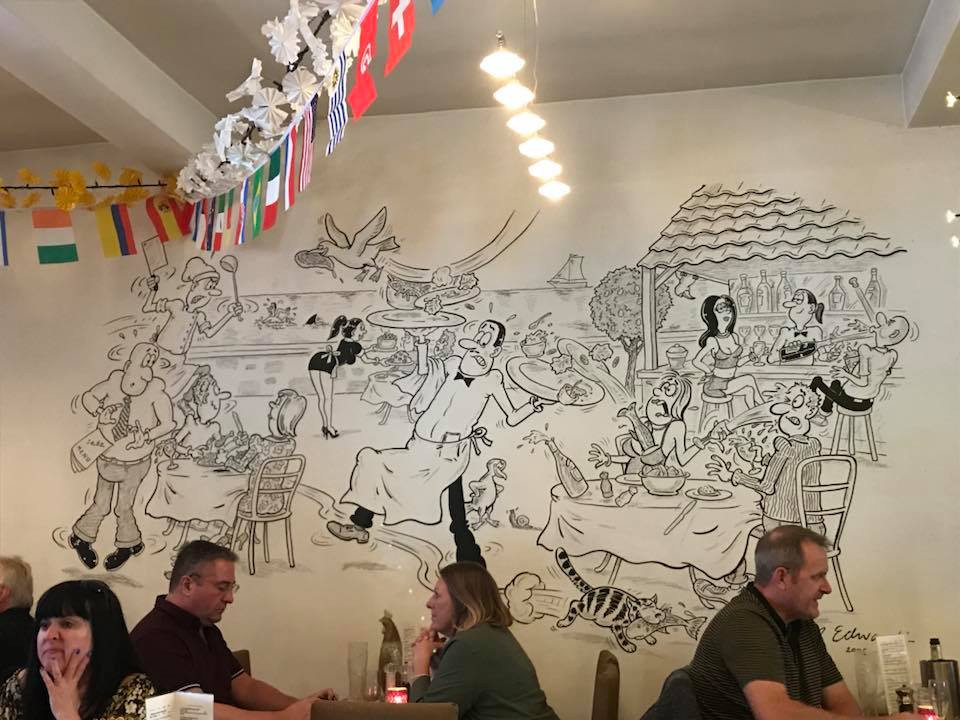 Sebz Portuguese Tapas Restaurant Mural