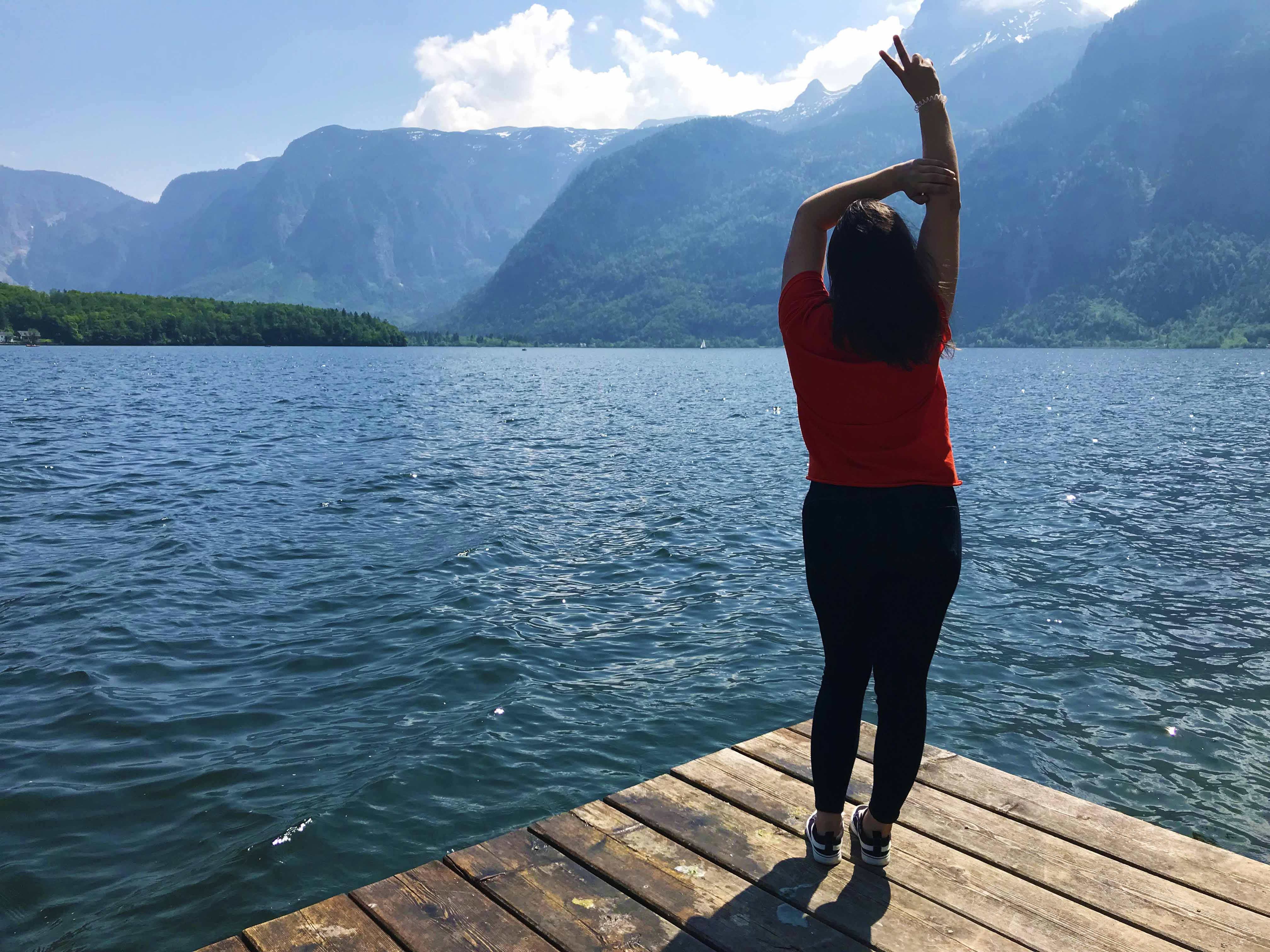 Lake in Hallstatt Austria