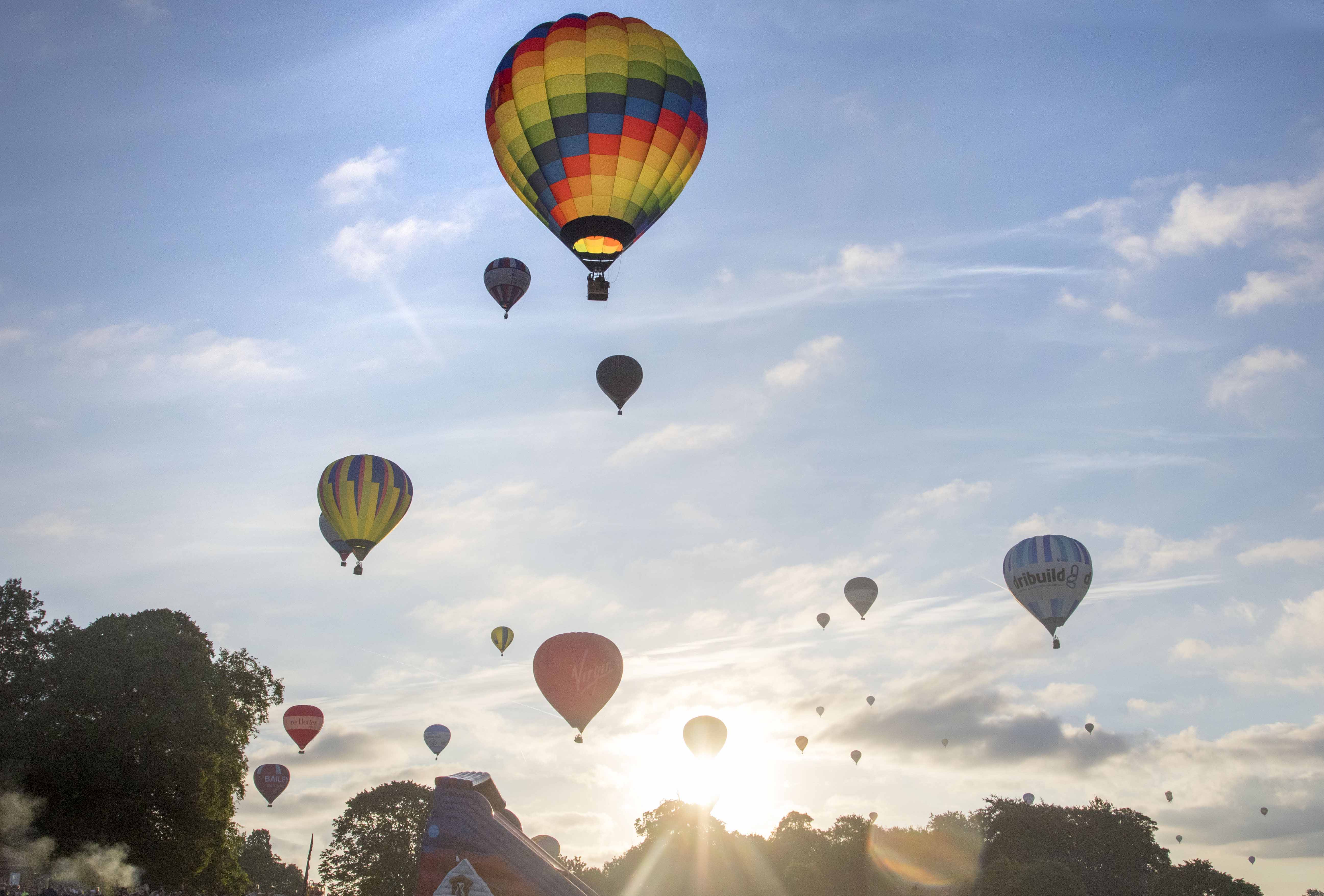 Bristol International Balloon Fiesta. Image credit paulbox© framedogs