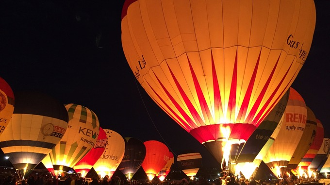 Bristol Balloon Fiesta Night Glow