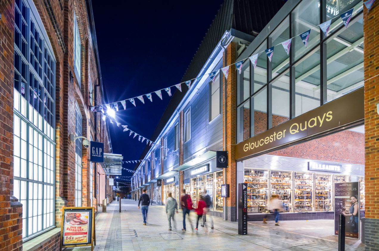 Gloucester Quays. Image credit: Chapman Taylor