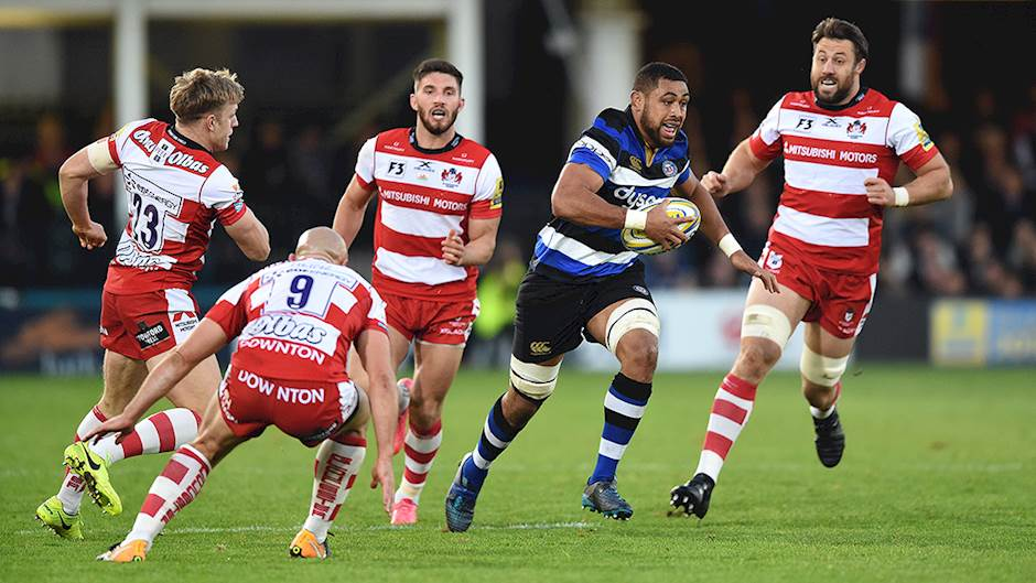 Gloucester Rugby. Image credit: Bath Rugby